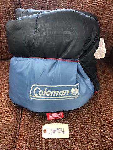 Coleman Sleeping Bag (33x75) LOT 54