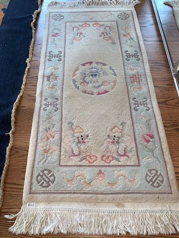 Lot 0108 Chinese Wool Rug Small
