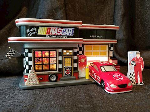 Department 56 NASCAR Licensed Garage