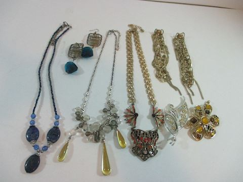 Lot of Vintage Repuposed Jewlry Hand Made