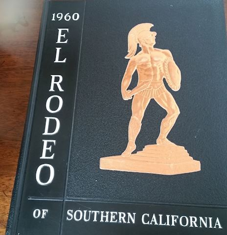 1960 EL RODEO OF SOUTHERN CALIFORNIA USC YEARBOOK