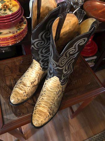 Tony Llama 10D Men's Cowboy boots, snakeskin