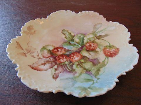 Vintage German Decorative Plate