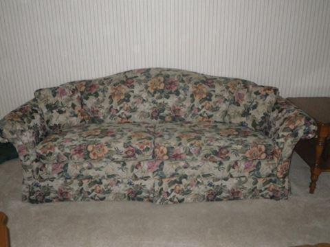 La-Z-Boy Floral Couch