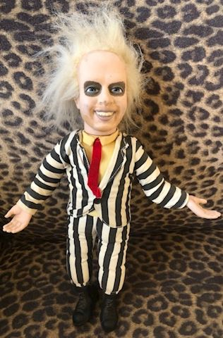 Vintage 1989 Talking Beetlejuice Pull-String doll
