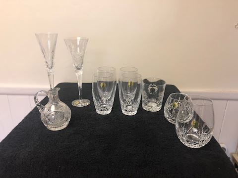 Waterford Crystal Stemware set