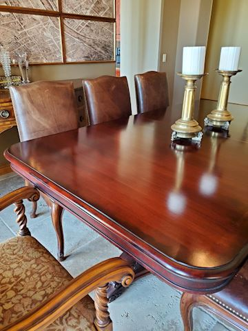 Ralph Lauren Solid Wood Dining Table