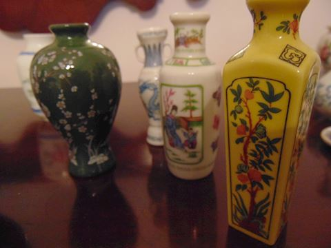 Grouping of Japanese Vases