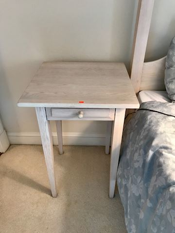 End table make from wood