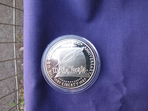 Coin - 200th Anniverary of U.S. Constitution