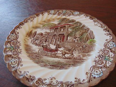 Staffordshire Ironstone Plates