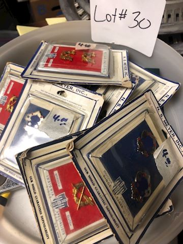 New old Stock Vietnam Era Pins - Lot 30