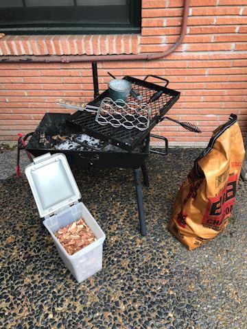 Yard 108.   Barbecue Set