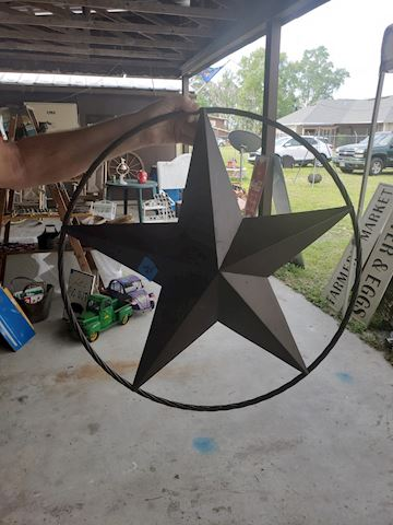 Small metal star