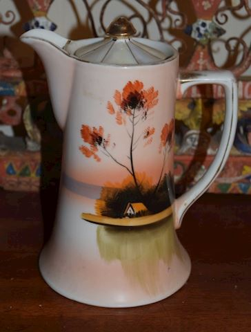Antique Early 1920's-30's Japan Chocolate Pot