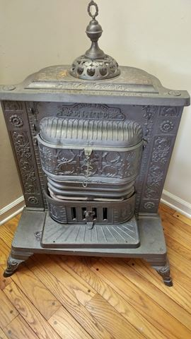 Vintage Progress Elite Cast Iron Stove