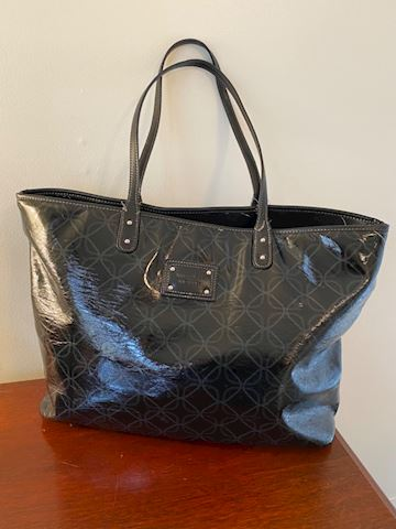 Sharp & Cool Black Nine West Everything Purse