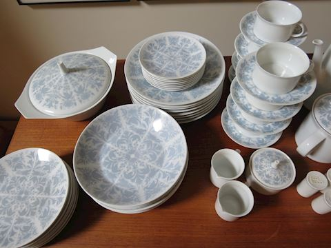Rosenthal Berlin Bellevue Blue and White China