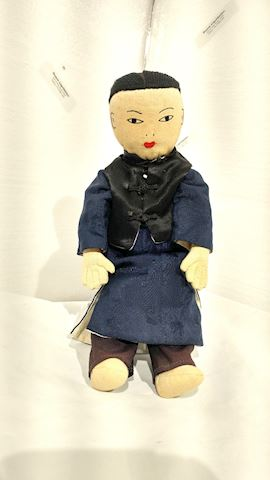 Asian Handmade Cloth Doll