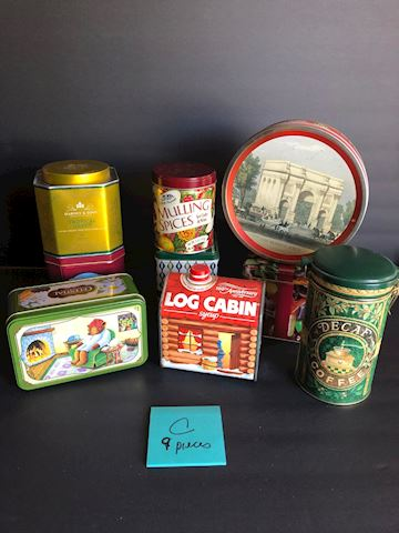 Collection of Tins Lot C