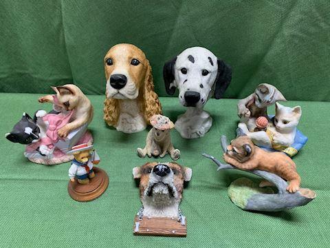 Lot of Animal Figurines