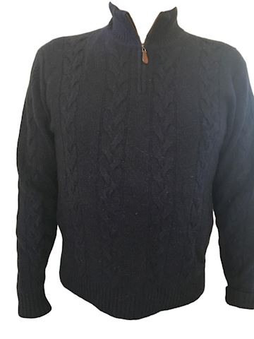 Men's Cashmere Sweater - Size Large