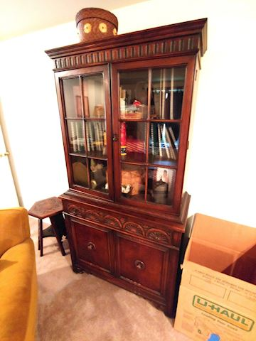 Antique Bernhardt China Cabinet