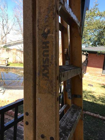 117.  Yard.  8ft Ladder