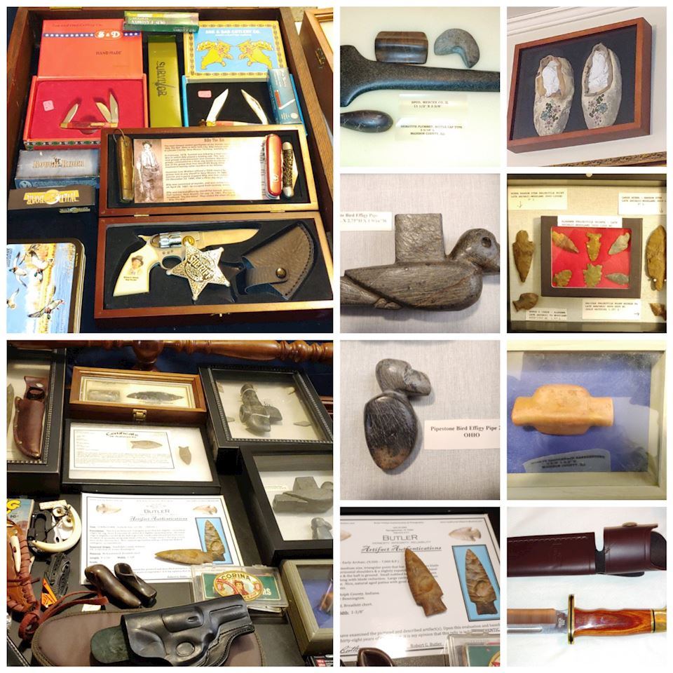 COLLECTORS Online ESTATE AUCTION American Indian Artifacts & A FULL HOUSE OF TREASURES! WOW!!