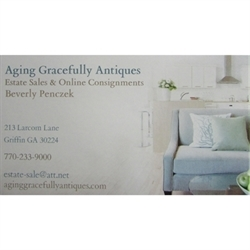 Aging Gracefully Antiques Logo