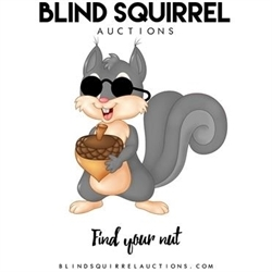 Blind Squirrel Auctions Logo