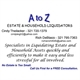 A to Z Liquidators Logo