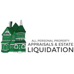 All Personal Property Appraisals & Estate Liquidations Logo