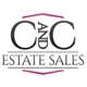 C and C Estate Sales Logo