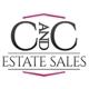 C and C Estate Sales Logo
