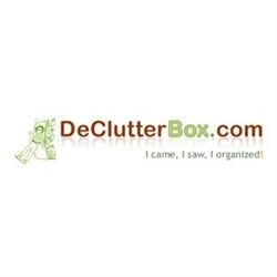 The De-Clutter Box Organizing & Moving Sale Services Logo