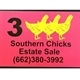 3 Southern Chicks Estate Sales Logo