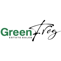 Green Frog Estate Sales Logo