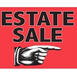 C & B estate sales Logo