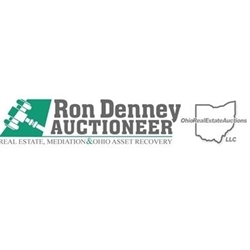 Ron Denney. Auctioneer Logo