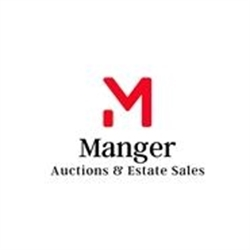 Manger Auctions & Estate Sales Logo