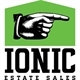 A Ionic Estate Sales Logo