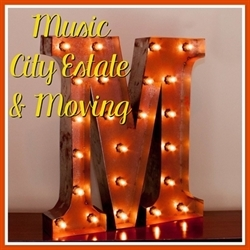 Music City Estate & Moving Logo