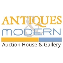 Antiques & Modern Auction Gallery Logo