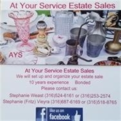 At Your Service Estate Sales Logo