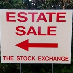 The Stock Exchange Estate Sales Logo