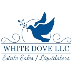 White Dove, LLC Estate Sales/Liquidators Logo