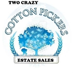 Two Crazy Cotton Pickers Estate Sales LLC Logo