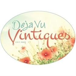 Deja Vu Vintiques Logo