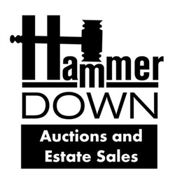 Hammerdown Auctions And Estate Sales Logo